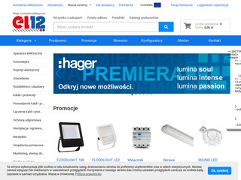 El12.pl - sklep internetowy