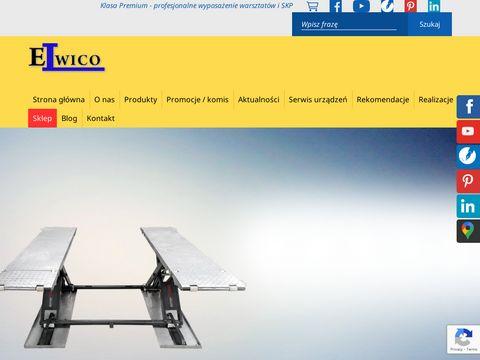 Elwico wyposażenie warsztatu