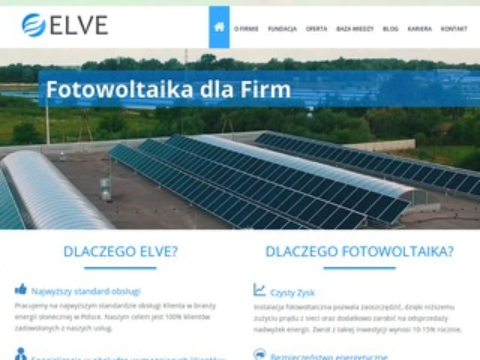 Elve.pl - fotowoltaika Kraków