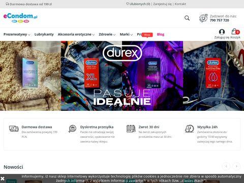 Econdom.pl - prezerwatywy
