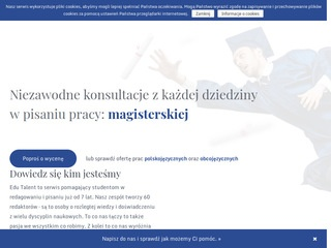 Edutalent.pl - praca licencjacka