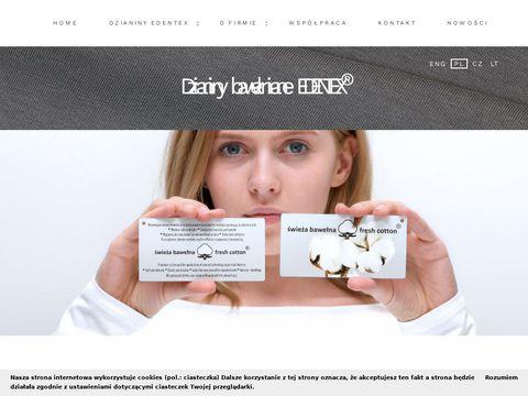 Edentex.pl dzianiny