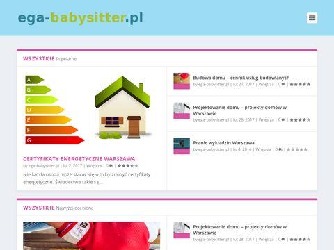 Ega-babysitter.pl opieka do dziecka
