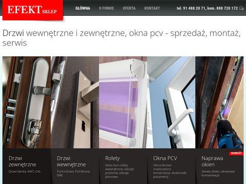 Efekt.sklep.pl - drzwi Szczecin