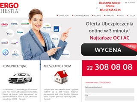 Ergohestia.waw.pl - ubezpieczenia samochodowe