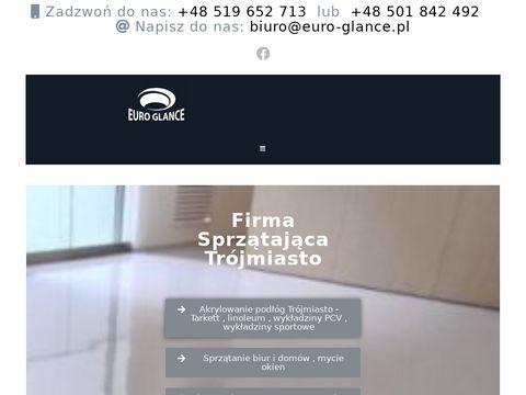 Euro-glance.pl sprzątanie biur i domów Gdańsk, Sopot