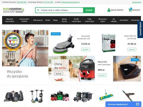 Euroczystosc.pl wózki hotelowe i odkurzacze