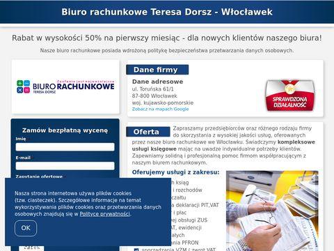 Biuro-ksiegowe.wloclawek.pl Teresa Dorsz