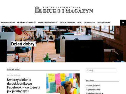 Biuroimagazyn.com - biały papier