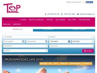 Top Travel wczasy Albania