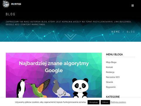 Blog.memtor.pl