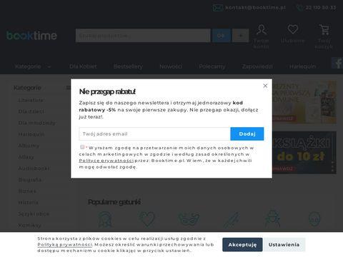 Booktime.pl księgarnia internetowa tanie książki