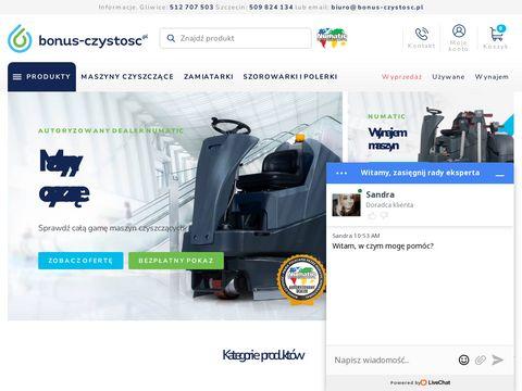 Bonus-czystosc.pl maszyny do mycia podłóg