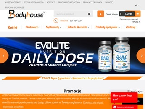 Bodyhouse.pl odżywki sklep online
