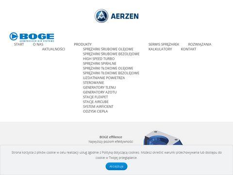 Bogepolska.pl sprężarki, generatory