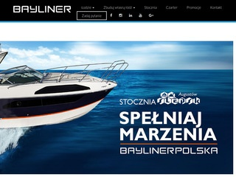 Bayliner Polska - łodzie motorowe