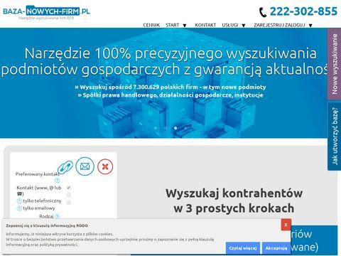 Baza-nowych-firm.pl zarządzanie