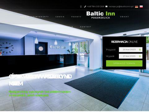 Baltic Inn pogorzelica apartamenty