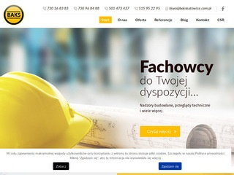 Bakskatowice.pl nadzór budowlany