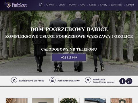 Babice kremacja Warszawa