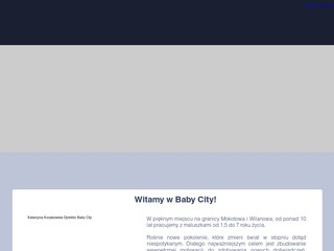 BABY CITY Najlepsze przedszkole