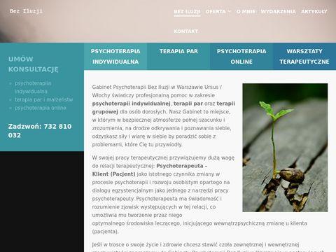 Beziluzji.pl - terapia par Ursus