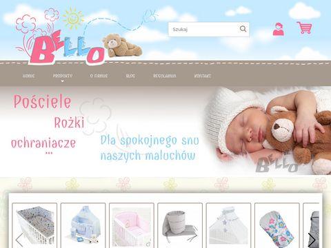 Bello24.pl pościel niemowlęca