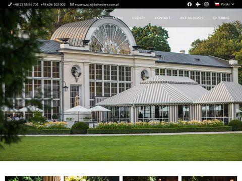 Belvedere restauracja mokotów