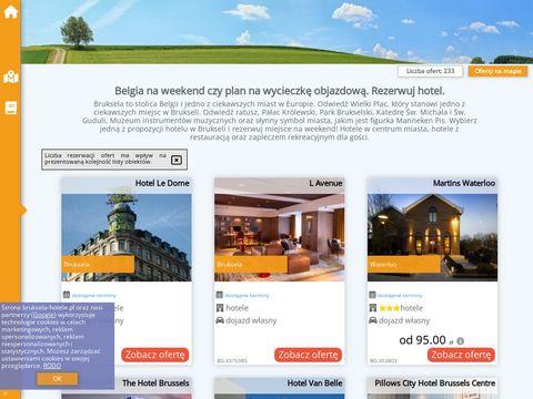 Bruksela-hotele.pl Hotele w Brukseli