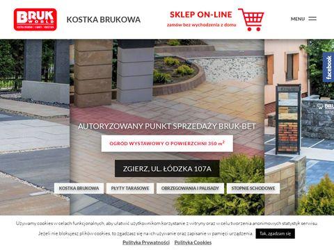 Brukworld.pl sprzedaż i układanie kostki brukowej