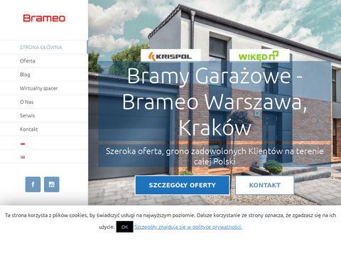 Brameo.pl bramy garażowe do posesji