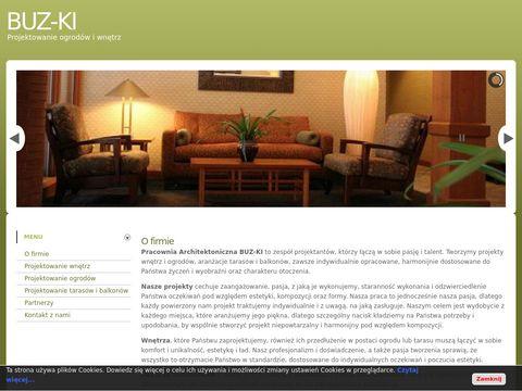 BUZ-KI - aranżacja wnętrz i ogrodów