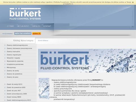 Burkert Zawór elektromagnetyczny