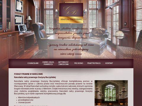 Buczynskagrazyna.pl kancelaria prawna - rozwody