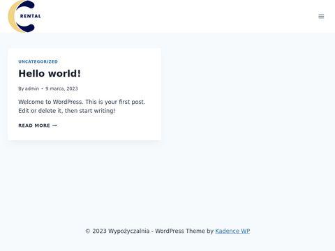 C-rental.pl wynajem samochodów w Warszawie