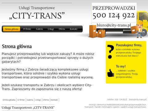 City-trans.pl przeprowadzki Gliwice
