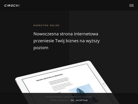 Cirocki.pl - tworzenie stron www Kartuzy