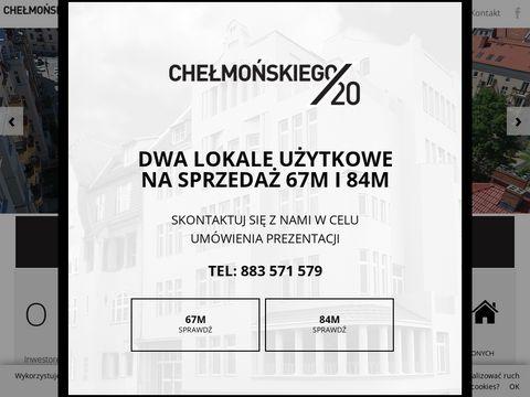 Chelmonskiego20.pl - mieszkania