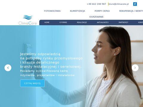 Climacore.pl pompy ciepła