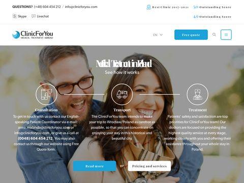 ClinicForYou - Dental implants