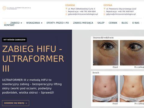 Clinicacosmetologica.pl zabiegi laserowe