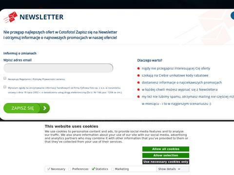 Cotofoto.pl fotoksiążka