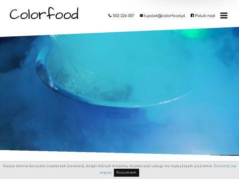 Colorfood.pl kuchnia molekularna Warszawa