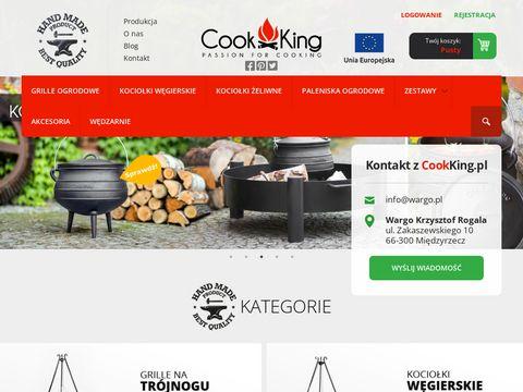Cookking.pl - kociołek na ognisko