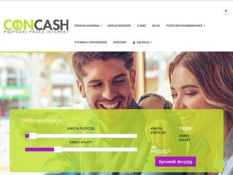 Concash.pl pożyczka na dowód