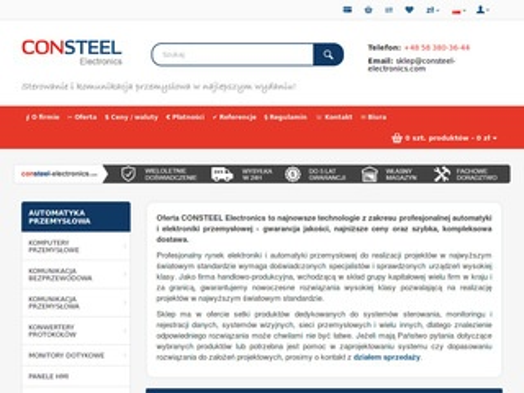 Consteel Electronics - sieci przemysłowe