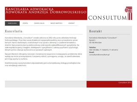 Consultum - kancelaria