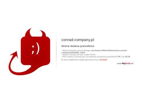 Conrad Company wyposażenie gastronomiczne