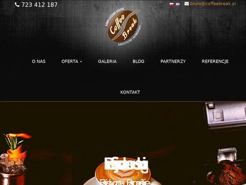 Coffeebreak.pl usługi baristyczne