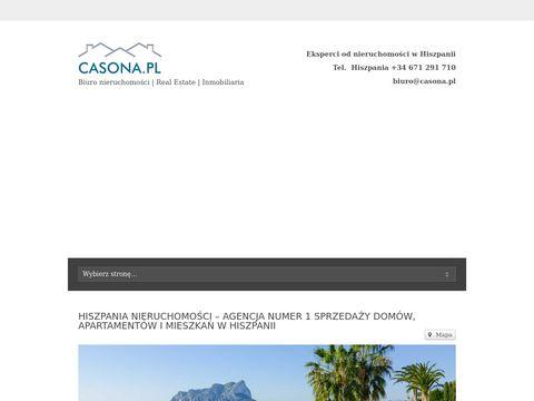 Casona.pl Alicante sprzedaż mieszkań